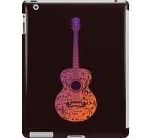 Guitar and Music Notes 3 iPad Case/Skin