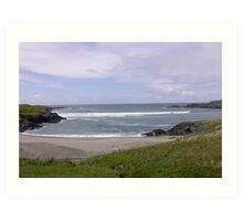 Seaview  Glencolumbkille, Donegal Ireland Art Print