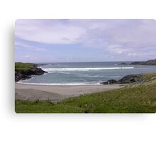 Seaview  Glencolumbkille, Donegal Ireland Canvas Print