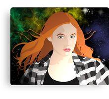 Amy Pond Canvas Print