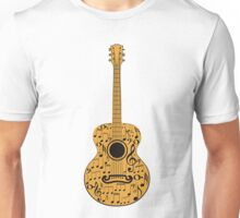 Guitar and Music Notes 4 Unisex T-Shirt