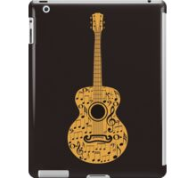 Guitar and Music Notes 4 iPad Case/Skin