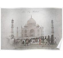 Vintage Taj Poster