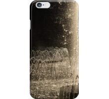 Silver Fountains Dancing in the Sun iPhone Case/Skin