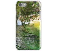 Water and Flowers iPhone Case/Skin