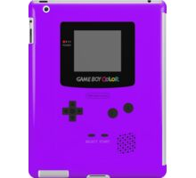 Game Boy Violet iPad Case/Skin