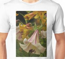 """Trumpet Lily """"Easter Morn"""" Unisex T-Shirt"""