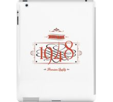 Since 1948 (Red&Black) iPad Case/Skin