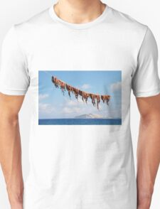 Octopus line, Nisyros T-Shirt
