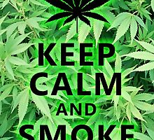 Keep calm and smoke weed by whodunit2786