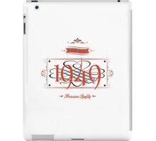 Since 1949 (Red&Black) iPad Case/Skin