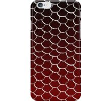 Red and Black Scales iPhone Case/Skin