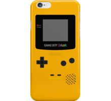 Game Boy Yellow iPhone Case/Skin