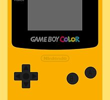 Game Boy Yellow by wanderingent