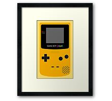 Game Boy Yellow Framed Print