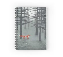 The Fox and the Forest Spiral Notebook