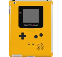 Game Boy Yellow iPad Case/Skin