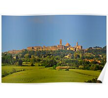 Volterra - Town of Twilight I Poster