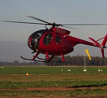 Hughes 500 Helicopter by David Hunt