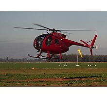 Hughes 500 Helicopter Photographic Print