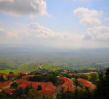 Volterra - Town of Twilight II by Denis Molodkin
