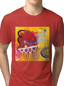 Look To The Rainbow #2. Tri-blend T-Shirt