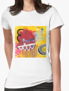 Look To The Rainbow #2. Womens Fitted T-Shirt