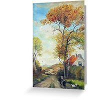 On country road OFFER 150 $ !!! Greeting Card