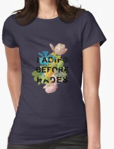 Ladies Before Hades Womens Fitted T-Shirt