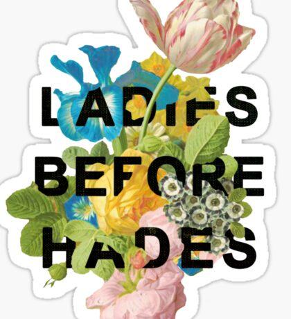Ladies Before Hades Sticker