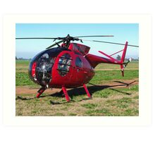 Hughes 500 Helicopter By David Hunt Redbubble