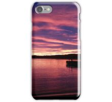 South Norwegian sunset iPhone Case/Skin
