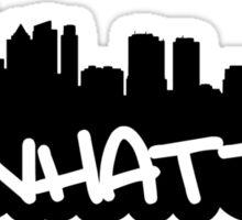 Manhattan NYC Sticker