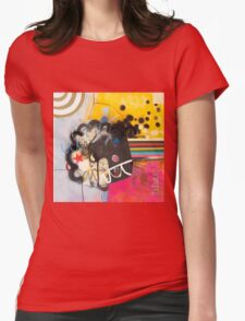 Look To The Rainbow #3. Womens Fitted T-Shirt