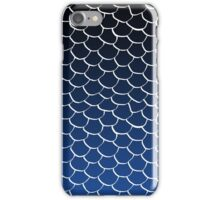 Blue and Black Scales iPhone Case/Skin
