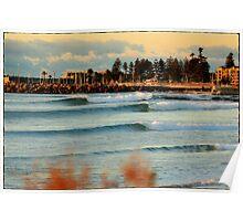 North Wollongong Beach Poster