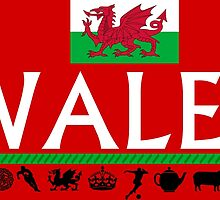 Wales Icons  by sicknick