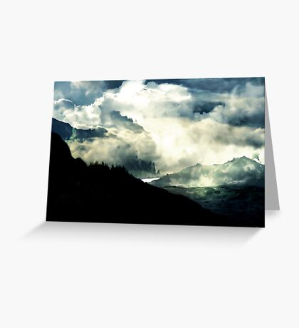 Earth, Ocean, Air, Beloved Brotherhood. Greeting Card