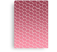 Salmon Scales Canvas Print