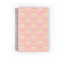 Pink & Yellow Pop Spiral Notebook
