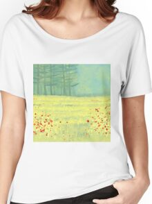 Meadow near Périgueux Women's Relaxed Fit T-Shirt