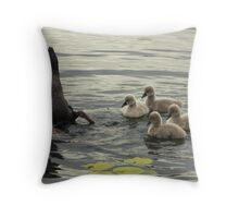 Four Of Six Throw Pillow