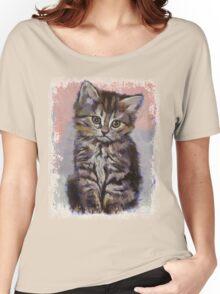 Kitten Women's Relaxed Fit T-Shirt