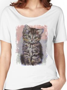 Kitten Women's Relaxed Fit T-Shirt