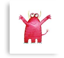 Monster Mavis Canvas Print