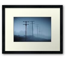 Together But Still Alone Framed Print
