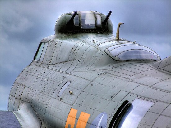 Calm Before the Storm - B -17G Sally-B - HDR by Colin J Williams Photography