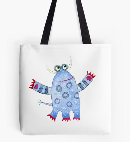 Monster Fred Tote Bag