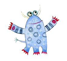 Monster Fred by Nic Squirrell