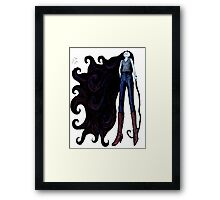 """Marceline in Jeans, 2014"" Framed Print"